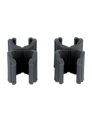 Pair of Brackets for Folding Safety Barrier 8000