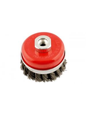 Abracs Twist Knot Cup Brush 70mm x M14 - Pack 1