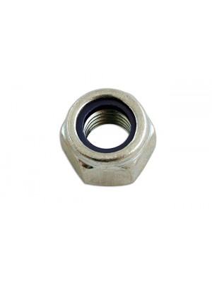 Steel Metric Nyloc Nut M14 - Pack 100