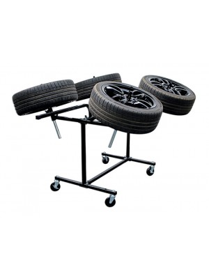 Alloy Wheel Painting Stand - Deluxe Heavy Duty