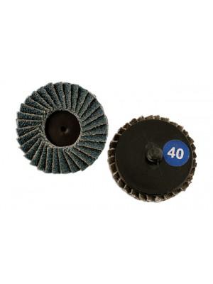 Abracs Quick Lock Flap Discs 50mm x P60 - Pack 5