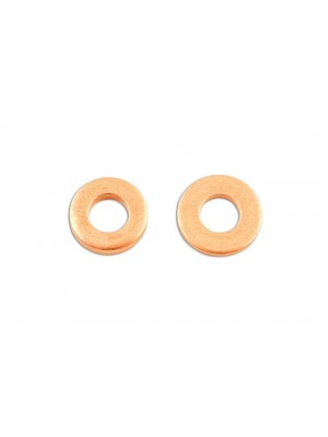 Common Rail Copper Injector Washer 15 x 7.5 x 3mm - Pack 50