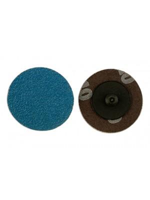 Abracs Quick Lock Sanding Discs 50mm x P80 - Pack 25